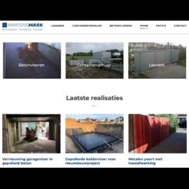 Martens Mark - Betonvloeren - Containers - Laswerk